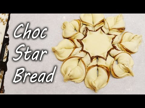 How to Make Nutella Chocolate Star Bread - Christmas Treat