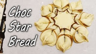 How to Make Nutella Chocolate Star Bread – Christmas Treat