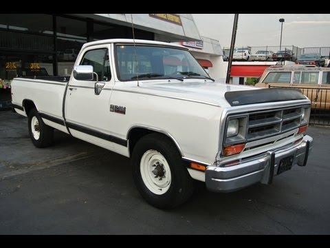 1989 Dodge Ram 250 LE Cummins i6 Turbo Diesel {+} 1 Owner 99k Miles 3/4 ton 2500