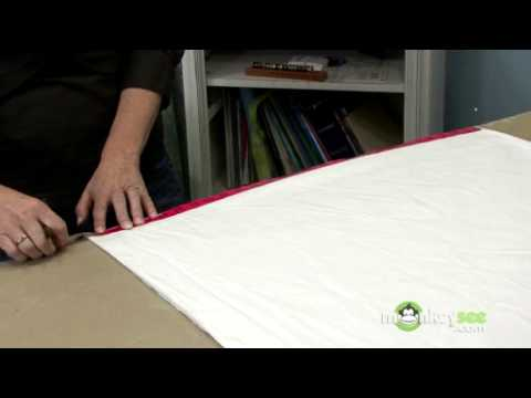 Creating the Pattern of the Christmas Tree Skirt