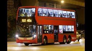 (第二代的紅巴)KMB 46X Dennis Enviro 500 MMC Facelift (ATENU1246) 荔景鐵路站➡️美孚巴士總站