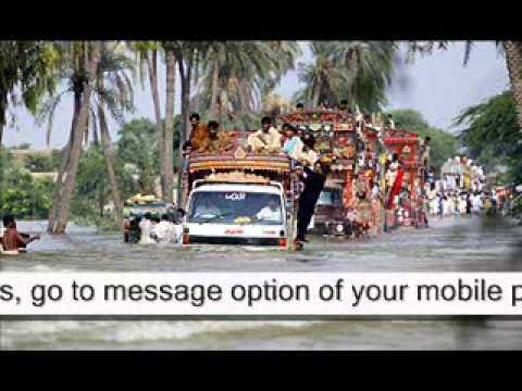 Sindh Flood - Donation Via SMS Urdu Promo 1 Of 2 (2011).mpg