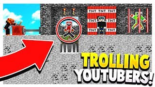 10 WAYS TO TROLL MINECRAFT YOUTUBERS! *actually works*