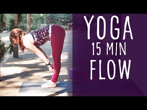 15 Minute Yoga Flow with Fightmaster Yoga