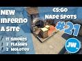 Lagu New Inferno A Site - 3 Strats + 11 Smokes, 2 Flashes & 2 Molotovs Top - CS:GO Nade Spots Infernew