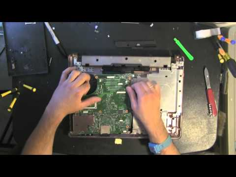 COMPAQ HP 6720S take apart video. disassemble. how to open disassembly