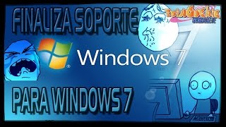 FINALIZA SOPORTE PARA WINDOWS 7