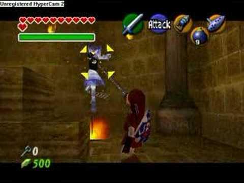 Flare Dancer no Bombs Legend of Zelda Flare Dancer