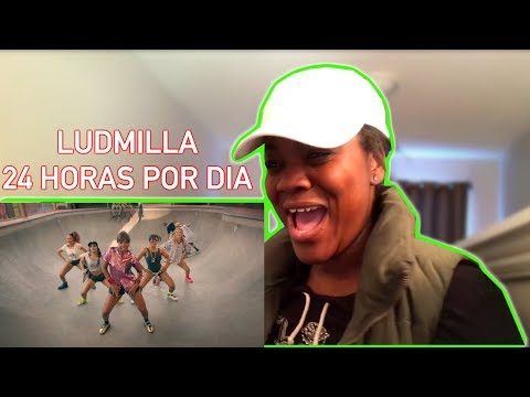24 Horas Por Dia (Clipe Oficial) - Ludmilla - REACTION