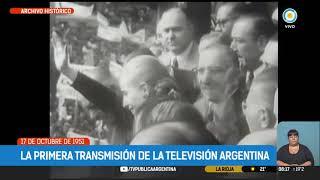 La primera transmisin de la Televisin Argentina | TPANoticias