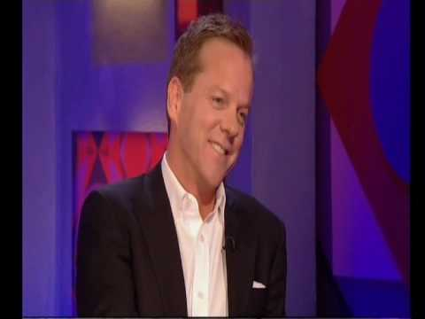 Kiefer Sutherland  on Jonathan Ross 2010 Pt 1.