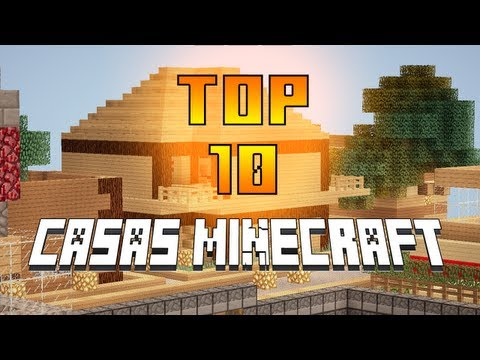 Minecraft top 10 casas las mejores casas servidor de for Casa moderna minecraft 0 10 4