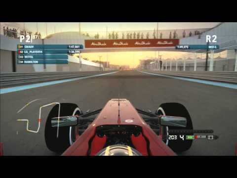 Lets Play Formel 1 2012 Co Op  Part 38 Abu Dhabi Qualifying (German)
