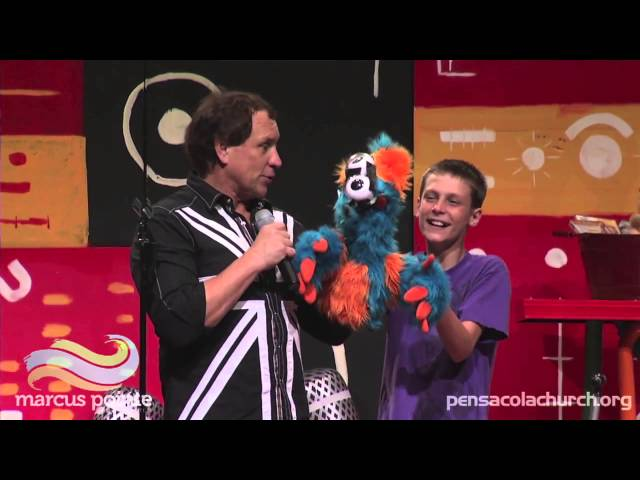 Taylor Mason Performs Ventriloquism with Stash