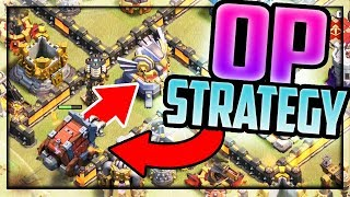 THREE STAR Strategy! Clash of Clans Town Hall 12 OP Attack!