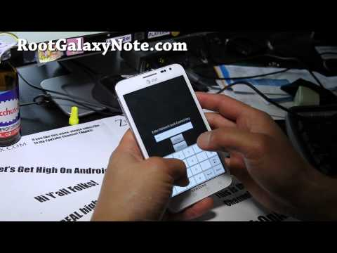 How to Unlock SIM on your AT&T Galaxy Note SGH-i717! [Bell/Rogers/Telus]