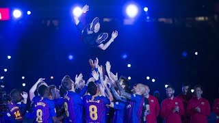 FULL STREAM | #7heChamp10ns & farewell to Andrés Iniesta
