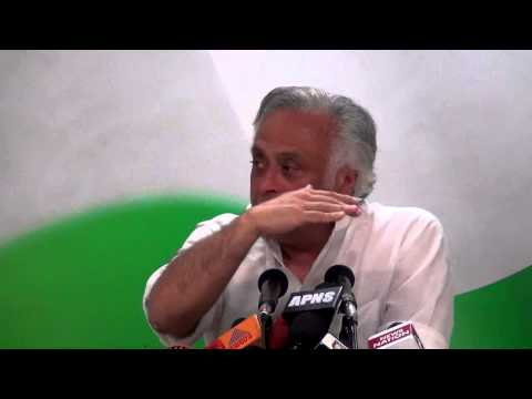 AICC Press Conference addressed by Jairam Ramesh | 22 March, 2015