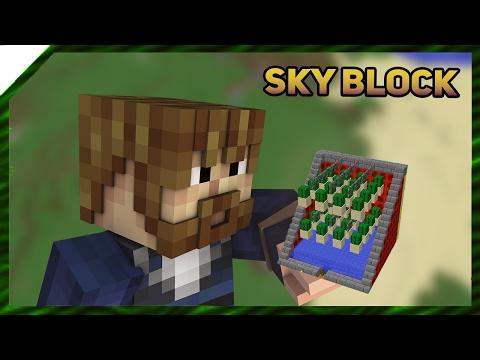Профессиональная ферма кактусов 🌵 | SkyBlock 05