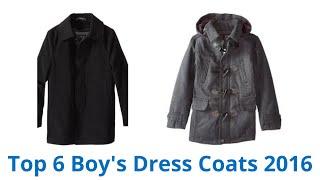6 Best Boy's Dress Coats 2016