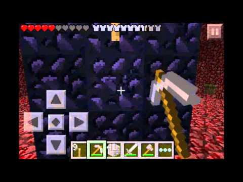 Minecraft: PE | Let's Play | Episode: 10 Melons, Quartz, Glowstone.. It's Nether Reactor Time!