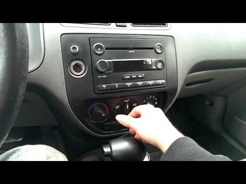 I'm Back! And With Issues; 2005 Ford Focus ZX4 Heater Control Problem