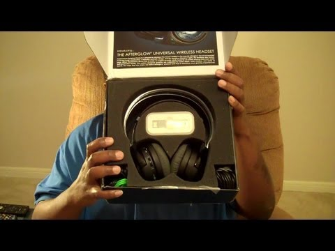 AFTERGLOW Universal Wireless Headset UNBOXING with M4d Ski11z