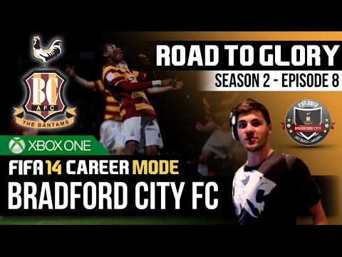 FIFA 14 | Bradford City Career Mode - S2E8 - STOP HITTING THE POST!