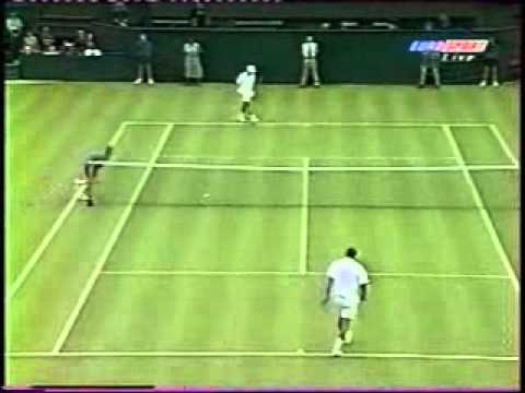 Pete Sampras great shots selection against Dominik Hrbaty (Wimbledon 1998 1R)