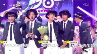[HD] 140725 B1A4 No.1 K-Chart Music Bank