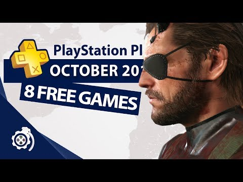 PlayStation Plus (PS+) October 2017