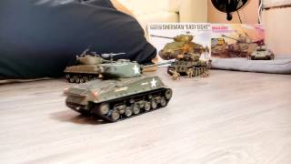 1/35 RCTANK M4A3E8 - Tamiya  Sherman Easy Eight