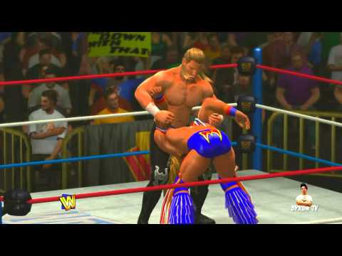 WWE - Ultimate Warrior vs HHH Wrestlemania 12
