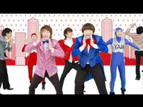 [HD]Super Junior T  Rokkugo PV (Japanese Ver)