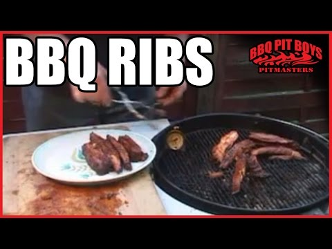 BBQ Ribs Recipe by the BBQ Pit Boys