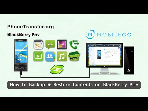BlackBerry Priv Backup and Restore: How to Backup & Restore Contents on BlackBerry Priv
