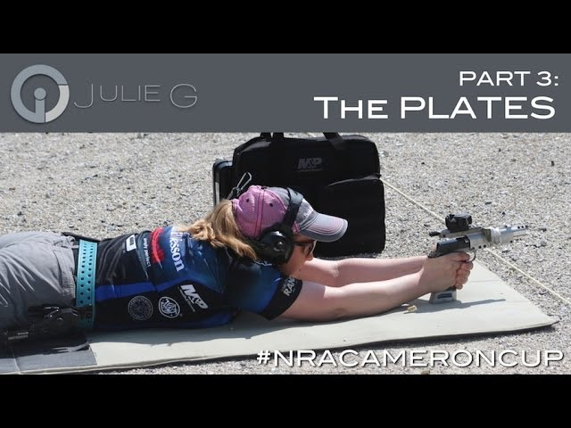 Gone SHOOTing: Julie Golob at NRA Cameron: The Plates | JulieG.TV