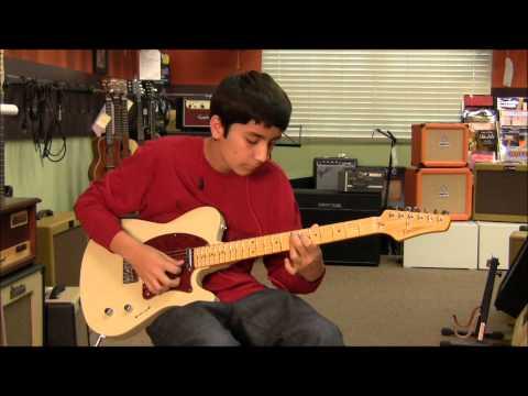 Buzz Feiten Guitar, ValveTrain Amp- Clean