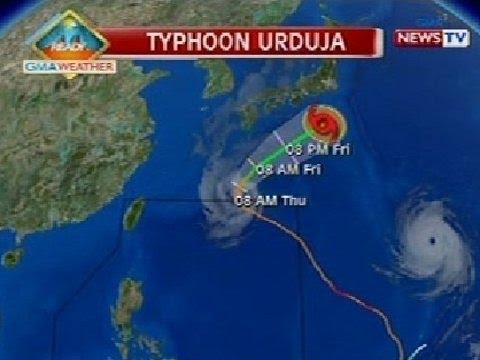 Bt: Typhoon Urduja, Nakalabas Na Ng Par Ayon Sa Pagasa video