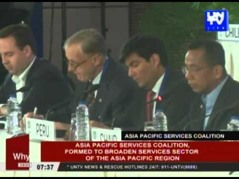 Asia-Pacific services coalition, formed to broaden services sector of the Asia-Pacific region
