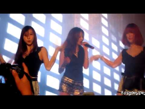 [hd Fancam] 121201 G.na - Black And White  Singapore Courts video