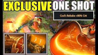 God's Rebuke + Totem New One Shot Combo | Dota 2 Ability Draft