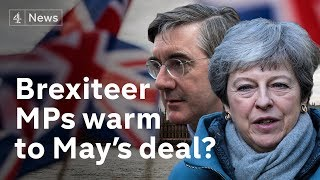 Fears of no Brexit drive hardliners to May's side