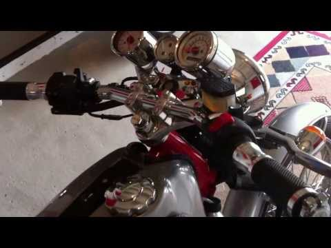 Acing in the Garage - Skyteam Ace 125 modifications