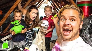 WHAT WE FOUND IN OUR HAUNTED ATTIC!