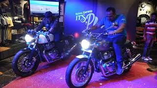 Royal Enfield Twins - exhaust note