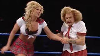 Moolah & Mae Young vs. Torrie & Dawn Marie: SmackDown, September 23, 2004