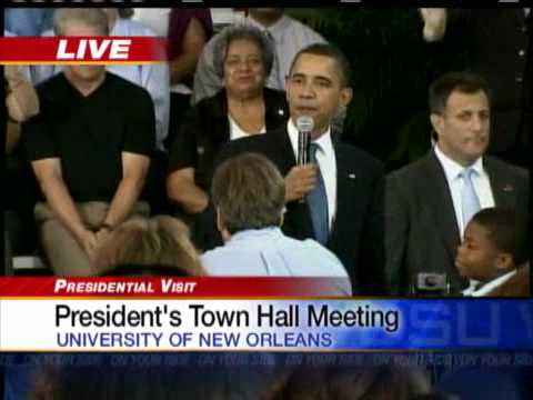 Boy Asks Obama,  Why Do People Hate You?