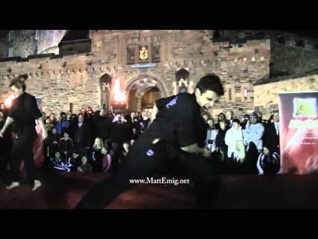 Matt Emig & Nikki Stanley - Opening Demo at WKA World Championships in Scotland