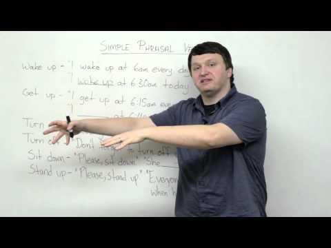 6 Simple Phrasal Verbs